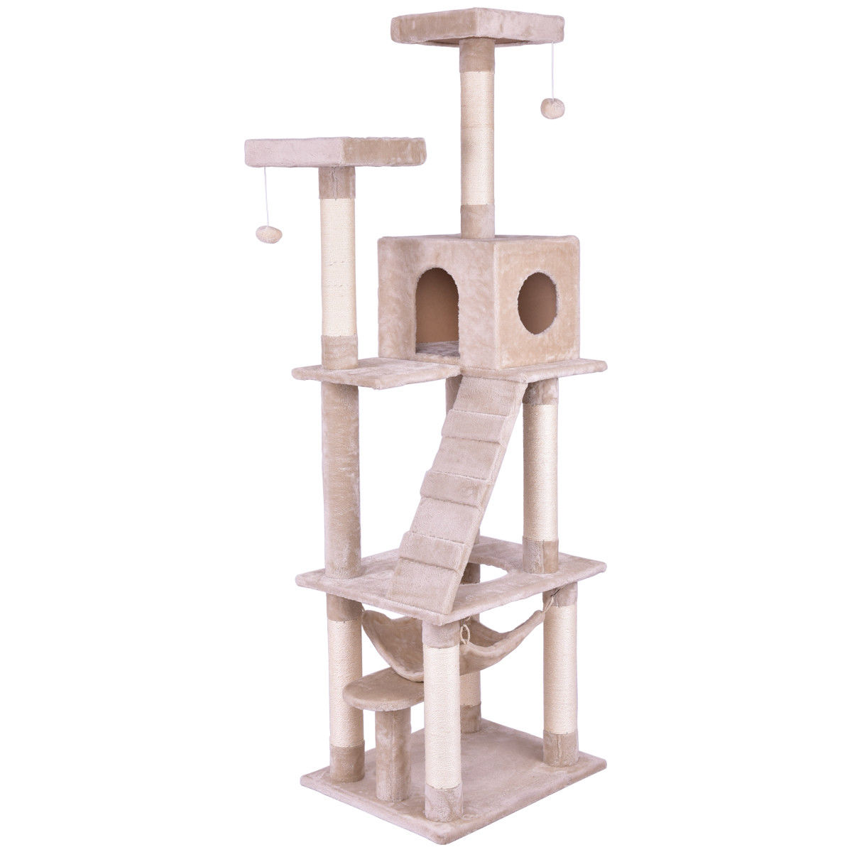 Tower Condo Bed Scratch Post Ladder Cat Tree