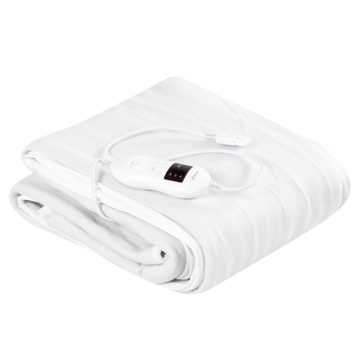 Image of Safe Electric Heated Mattress Pad with 4 Size 8 Temperature 10 h Timer
