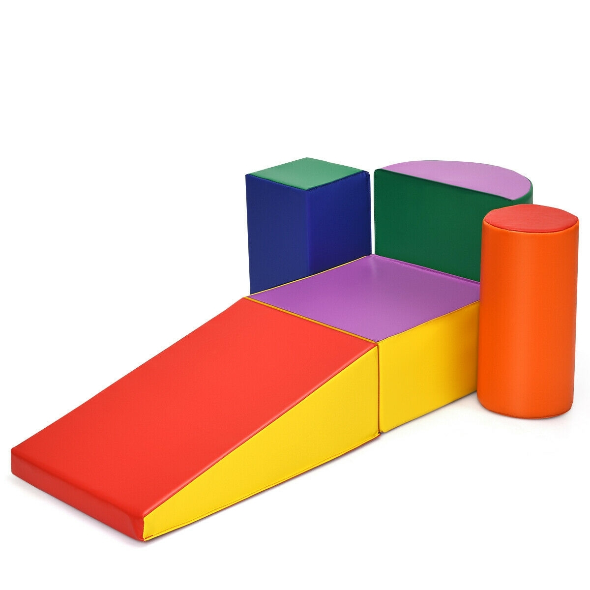 Image of Crawl Climb Foam Shapes Playset Softzone Toy