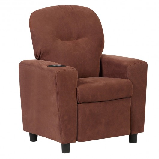 Prime Blue Brown Kids Recliner Arm Chair Pabps2019 Chair Design Images Pabps2019Com