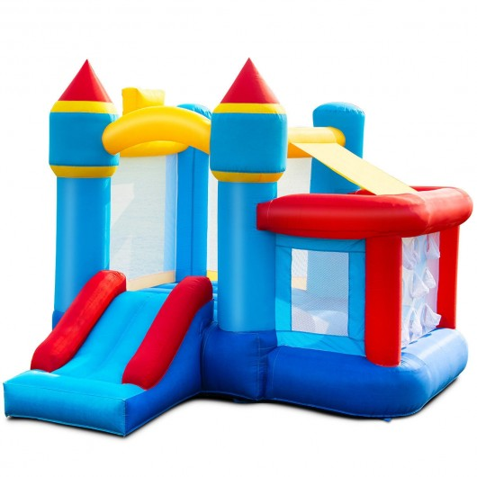 Fine Kids Inflatable Castle Bounce House Without Blower Interior Design Ideas Lukepblogthenellocom