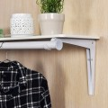 Wall Mounted Folding Home Hanger and Storage Shelf