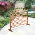 Expanding Portable Fence Wooden Safety Gate