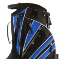 Golf Stand Cart Bag with 6 Way Divider Carry Pockets