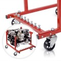 New 1000lb Auto Engine Cradle Stand Chevrolet Chevy  V8 w/Dolly Wheels