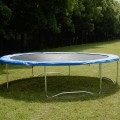 Blue Safety Round Spring Pad Replacement Cover for 12' Trampoline