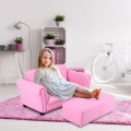 Kids Double Couch Lounge sofa with Ottoman