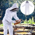 Professional Cotton Full Body Bee Keeping Suit with Veil Hood