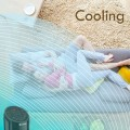 """40"""" Portable Oscillating Tower Fan with Remote Control and LCD Display"""