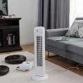 "Fantask 35W 28"" Quiet Bladeless Oscillating Tower Fan"