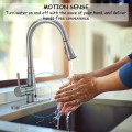 Pull-down Single Handle Brushed Nickel Kitchen Faucet