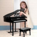 Musical Instrument 30-KeyMini Grand Piano with Bench