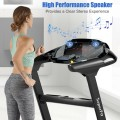 2.25HP Folding Treadmill Running Jogging Machine with LED Touch Display