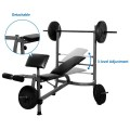 Fitness Workout Weight Lifting Bench w/ Bar