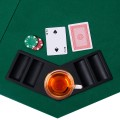 """48"""" 8 Players Octagon Fourfold Poker Table Top"""