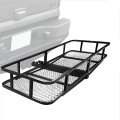 """Folding Cargo Carrier Luggage Rack Hauler Truck or Car Hitch 2"""" Receiver"""