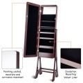 Standing Armoire Organizer  Jewelry Cabinet w/ LED