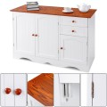 Buffet Storage Cabinet  Kitchen Sideboard with 2 Drawers