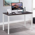 Modern Wooden Computer Writing Table Workstation
