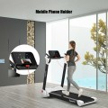 2.25 HP Electric Motorized Folding Running Treadmill Machine with LED Display
