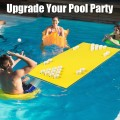5.5 Feet x 35.5 inch 3-Layer Multi-Purpose Floating Beer Pong Table