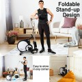 Foldable Magnetic Rowing Machine with 16-level Adjustable Intensity