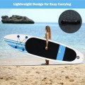 10' Inflatable Stand Up Paddle Board with Carry Bag