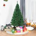 Artificial PVC Hinged Christmas Tree with Solid Metal Stand