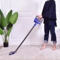 Portable Lightweight  Bagless Vacuum Cleaner w/ Washable Filter