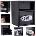 Digital Deposit Safe Box Depository with Front Drop for Jewelry and Cash