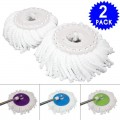 2 pcs Micro Mop Head Replacement