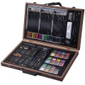 80-Piece Art Set Drawing Accessories with Wood Case