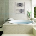 Wall Mount Stainless Steel Polished Towel Warmer Drying Rack