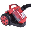 700 W Bagless Cord Rewind Canister Vacuum Cleaner w/ HEPA Filtration