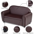 Kids Sofa Armrest Chair with Storage Function