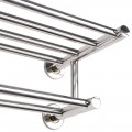 24 Inches Wall Mounted Stainless Steel Towel Storage Rack with 2 Storage Tier