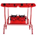 2 Person Kids Patio Swing Porch Bench with Canopy
