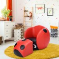 Insect Shaped Kids Sofa with Ottoman