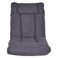 Cushioned Floor Gaming Sofa Chair with Headrest
