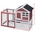 Wooden Rabbit Hutch Poultry Cage