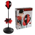 Kids Adjustable Stand Punching Bag Toy Set with Boxing Glove