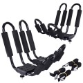 2 Pairs Canoe Boat Kayak Roof Rack with 4 straps