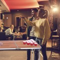 Foldable Aluminum 8' Folding Beer Pong Table