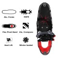 All Terrain Sports Snowshoes w/ Walking Poles & Free Carrying Bag