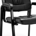 Set of 2 PU Conference Reception Office Guest  Armchair