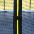 16' Outdoor Combo Bounce Trampoline Combo with Safety Enclosure Net Spring Pad and Ladder