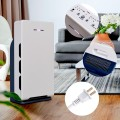 Air Purifier Cleaner w/ HEPA Filter Particle Carbon Filter