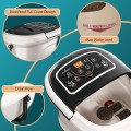 Foot Spa Bath Massager with Heat Vibration and Tempreture and Time Setting