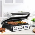 1500W Electric Grill Indoor Grill with Removable Plates
