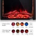 26 inch Fireless and Wall Mounted Electric Fireplace with Romote Control